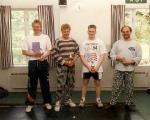Klubbmästerskap mitten på 90 talet.Jörgen,Piscator,Per E,S Henningsson.